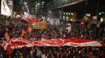 La primera protesta contra Temer a horas de asumir el poder - Noticias de brasilia philip leite