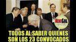 Memes: selección peruana no se salvó tras la convocatoria - Noticias de carlos zambrano