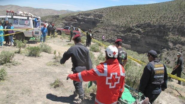 Camión cae a abismo y cinco personas mueren en selva de Puno