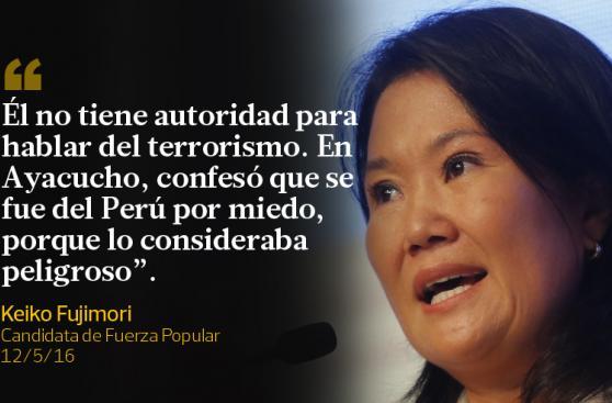 Keiko Fujimori y PPK dejaron estas frases durante la semana