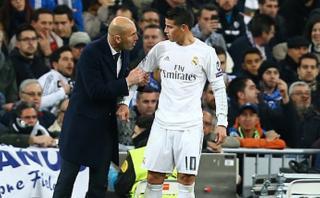 Zidane le da esperanzas a James Rodríguez con estas palabras