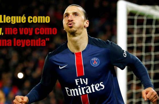 Zlatan Ibrahimovic: repasa las frases del autodenominado