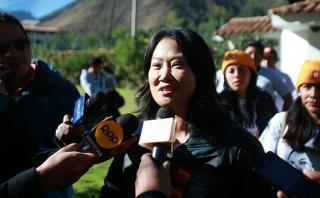 "Keiko Fujimori: ""PPK me ataca con palabras de su aliado Humala"""