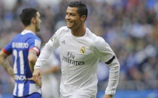 Cristiano Ronaldo marcó un doblete ante el Deportivo La Coruña