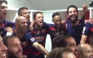 ¡Barcelona campeón! Así celebró el cuadro culé en vestuarios