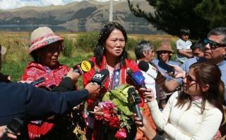 "Keiko Fujimori: ""Nosotros respetaremos a la Sunedu"""