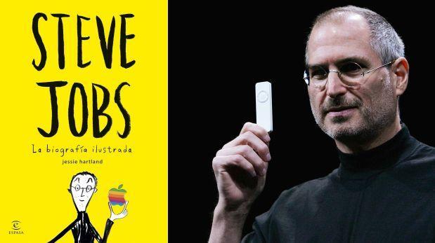 8ac23e5a048 biografia steve jobs libro. steve jobs la biografa ilustrada un ...