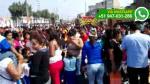 Vecinos del Callao se movilizaron para exigir zona de escape - Noticias de sarita colonia