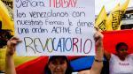 Así pidieron los venezolanos el revocatorio contra Maduro - Noticias de escasez de agua
