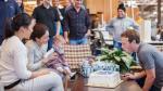 Facebook: Mark Zuckerberg y la celebración de cumpleaños [FOTO] - Noticias de sheryl sandberg