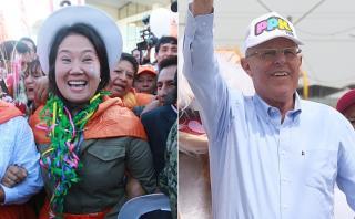 Simulacro Ipsos: Keiko 44,1% y PPK 43,8% en segunda vuelta
