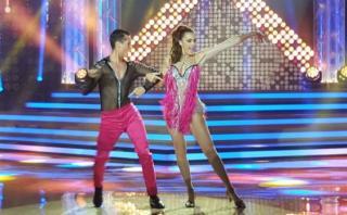 """Milett Figueroa impresiona con este baile en """"El gran show"""""""
