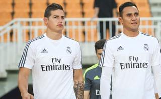 Real Madrid: Keylor y James, los contrastes del cuadro blanco