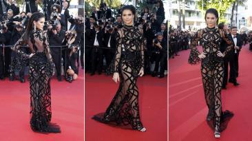 Kendall Jenner lució provocador vestido en Cannes 2016 [FOTOS]