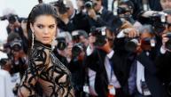 Lució provocador vestido en Cannes 2016