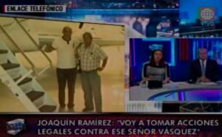 Joaquín Ramírez denunciará a piloto que lo acusó ante la DEA