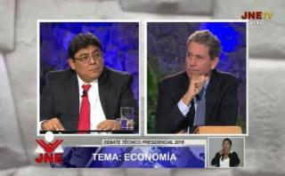 Debate técnico: Thorne y Cuba polemizaron sobre impulso a mypes
