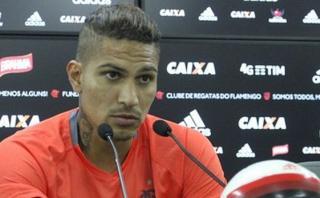 Paolo Guerrero se defendió de pifias de los hinchas de Flamengo