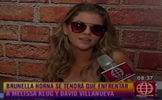 """""""El gran show"""": Renzo Costa pidió a Brunella Horna que renuncie"""