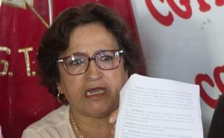 """CGTP: """"Hemos dado la dirección de que Keiko Fujimori nunca más"""""""