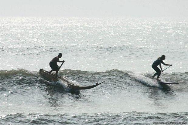 ¿El surf nació en el Perú? Un campeón busca convencer al mundo. (Foto: Felipe Pomar)