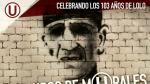 Universitario de Deportes: rol de festejos por #Los103deLolo - Noticias de teodoro fernandez
