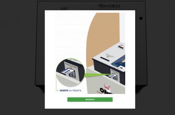 ONPE permite practicar el voto electrónico vía web