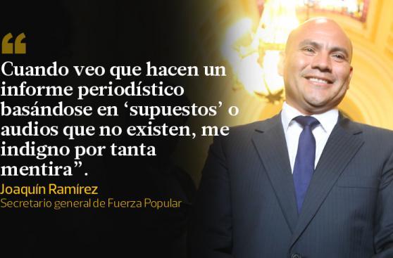 Así se defendió Joaquín Ramírez de acusación por lavado