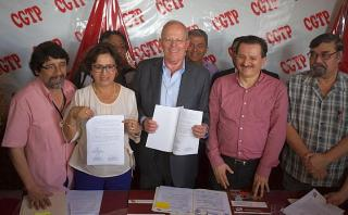 PPK precisó ante CGTP que seguro de desempleo será optativo