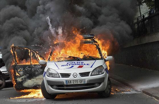 Nueva jornada de protestas en París contra la reforma laboral