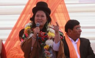 Keiko dice que puede declararse estado de emergencia en Lima
