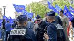 Nueva jornada de protestas en París contra la reforma laboral - Noticias de violencia verbal