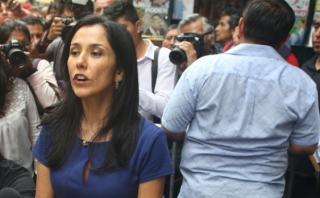 "Nadine Heredia: ""Keiko, usted blinda a cuestionado financista"""