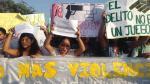 San Marcos: estudiantes se movilizaron para pedir más seguridad - Noticias de elizabeth garcia