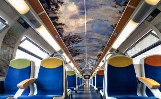 Disfruta de un paseo lleno de arte en estos trenes de Francia