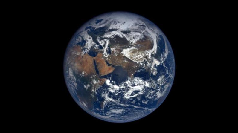 El Planeta Tierra captada desde el Espacio. En la imagen se aprecia parte de Europa. (Foto: Instagram)