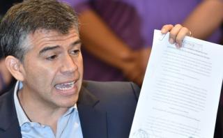 Julio Guzmán solicitó kit electoral para inscribir un partido