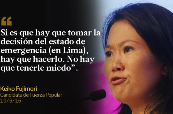 Las frases que Keiko Fujimori y PPK dejaron esta semana