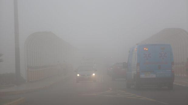 Neblinas continuarán en la costa norte, Tacna y Moquegua