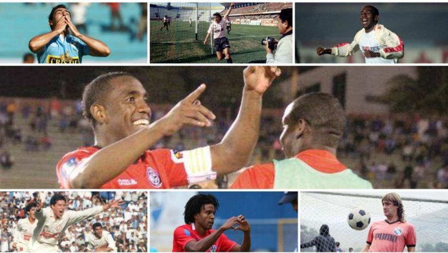 Luis Tejada y los máximos goleadores extranjeros en el Perú