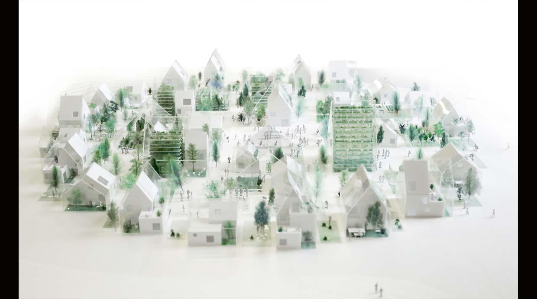 Este proyecto sostenible unirá casas con invernaderos