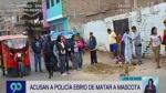Los Olivos: detienen a policía acusado de matar a perro - Noticias de walter olivo