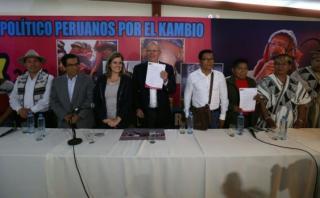 PPK ofrece a nativos un viceministerio para atender necesidades
