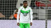 Carlos Ascues fue titular con el Wolfsburgo pero se lesionó
