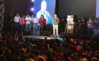 PPK se pronunció contra la pena de muerte durante mitin