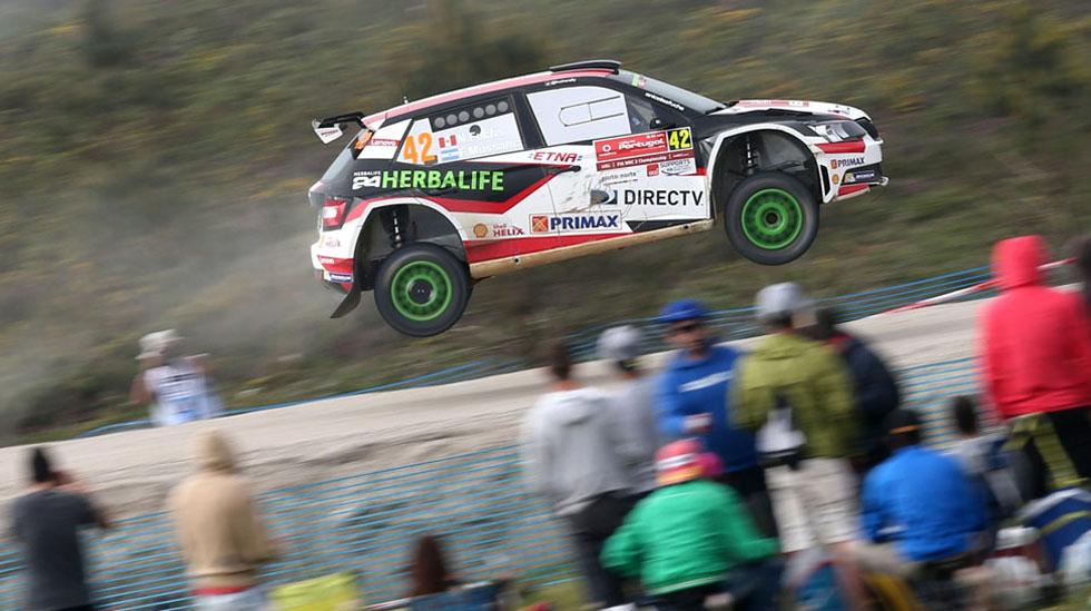 Nicolás Fuchs mantiene el segundo lugar del WRC 2. (fotos: Prensa Fuchs)