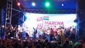 Marcha por la Igualdad terminó con concierto en Campo de Marte