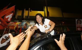 Keiko Fujimori y la columna vertebral de Fuerza Popular