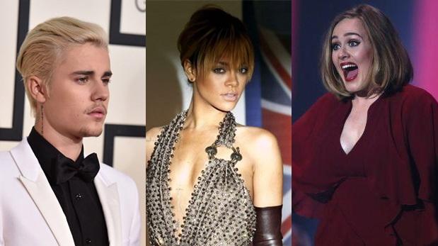 Justin Bieber, Rihanna y Adele son parte de la edición 2016 de los Billboard Music Awards. (Fotos: Agencias)