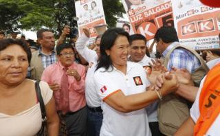 """""""Keiko Fujimori se siente en casa en Piura"""", asegura Schaefer"""